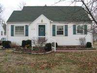 This cute 3 bedroom Cape Cod has 1 full bath. The main