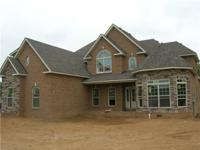 NEW ALL BRICK HOME ON 8.29 ACRES, BRING YOUR HORSES OR