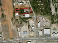 This 1.01 acre parcel is located just off of Atlanta
