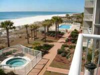 Great bargain for 3/2 direct gulf front with two pools,