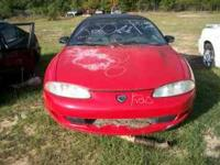 Parting out a 1995 Eagle Talon. Engine and