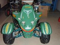 Descripción BRAND NEW IN THE BOX 110CC ATV 4 STROKE GAS