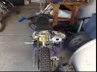 Non running pit bike. Has compression and spark. Just