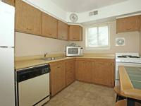 Large two bedroom apartment home with neutral decor,