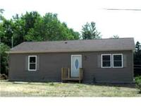 Great starter home on 2.40 acres 1050 sq.ft of living