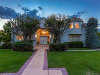 Spectacular two story entry complements views of the