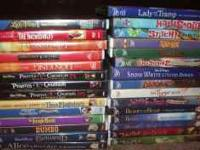 114 DVD'S INCLUDING DISNEY ALL DVD'S ARE $4.00 EACH