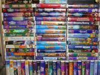 I am Selling my collection of 114 VHS videos. A
