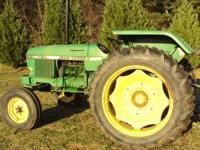 this is a 1140 john deere tractor/ 60 hp, its a 1979