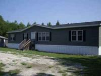 2008 Horton Manufactured home. 4br, 2ba, 1860 sqft on 5