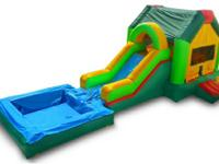 $115 for any Jumping castle with slide and pool on any