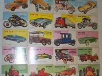 For Sale is a total of 115 1950's Topps World On Wheels