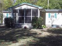 doublewide mobile home,excellent cond. ,no lake,2 full