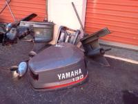 Parting out 80s 90s 115 hp 130 hp V-4 Yamaha outboard-