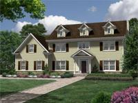 Among Six New Homes on Cul de Distinctive Domain