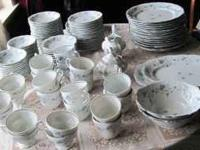 Here is a beautiful set of Bavarian Haviland china in