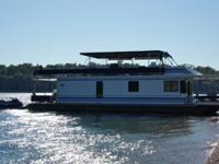 65ft Stardust wide body, updated houseboat is in