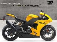 2014 EBR 1190 RX EBR is Americas Superbike Builder!