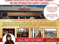 Double Office Red Carpet Lease! $1,195.00 Monthly.