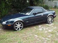 I have a 1995 Mazda Miata for sale or trade. 5 Speed