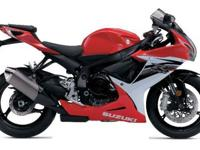 2013 GSX-R600.IN STOCK.RED & WHITE IS A VERY LIMITED