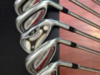 Gently Used Set of 11 GOLF CLUBS 4 Iron Cleveland