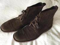 I have a clean pair of John Varvatos Star USA Chukka
