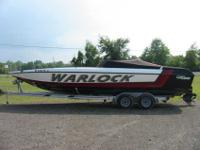 For sale is a 1989 28ft Warlock.It has a 454 engine