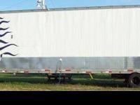 1992 Racing Trailer, 48 feet dry van, Converted for a