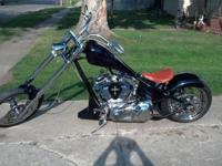 2003 custom chopper (Built in 2009 had to be registered