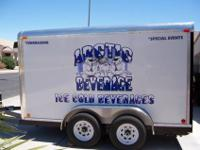 This is a 2007 custom built fully enclosed portable