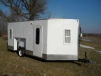 2012 custom built fishouse,8.5 x 20 feet with v,biult