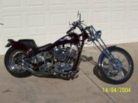 49 panhead chopper, wilwood brakes, new avon tires,