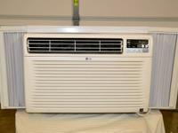 Energy Star 12,000 Btu hvac with remote control. This