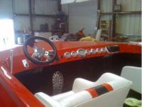 Eliminator hull Fresh rebuilt 454 with tunnel ram