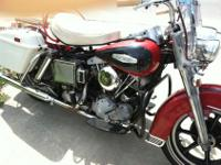 Original Harley FL Shovelhead original except paint