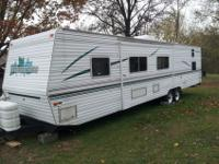 2001 39 ft Wilderness Travel Trailer. Only been on the