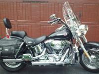 This is a SHOWROOM QUALITY Heritage Softail Classic