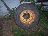 i have only ONE front tire with rim for sale. The tire