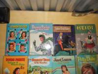 I have 12 60's books for sale. 1)Janet Lennon at Camp