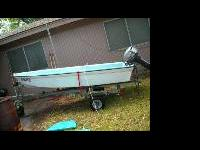 I have a Sears 12 'boat with a 2007 Yamaha Motor that