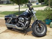Well maintained Harley Davidson Fatbob 2008. Only 7,092
