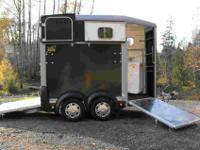 If you are looking for a lightweight two horse trailer