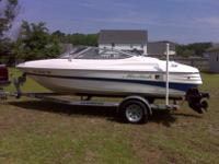 2007 Mariah SX18 bowrider ski boat with Wesco
