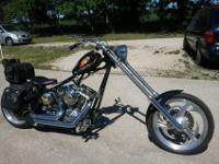THIS 2011 BIG DOG FULL CUSTOM CHOPPER IS WAY TOO