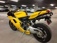 2008 Ducati 1098 Perfect conditionOnly 9,000