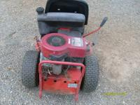 I have for sale a Briggs & Stratton 12.5 H.P.mower