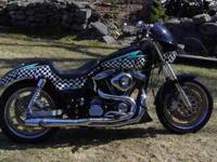 FOR SALE 1993 HARLEY DAVIDSON FXR CUSTOM MOTORCYCLE