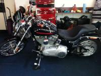 I am selling my 2007 Harley Davidson FXST Black in