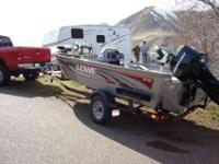2008 Lowe FM165 w/60hp 4 stroke EFI Mercury Bigfoot.
